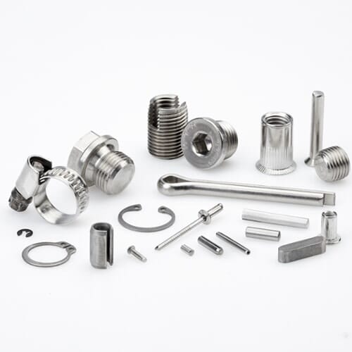 A1, A2, and A4 Stainless Steel is commonly used in European fasteners.